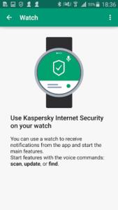 שעון אבטחה חכמה של קספרסקי